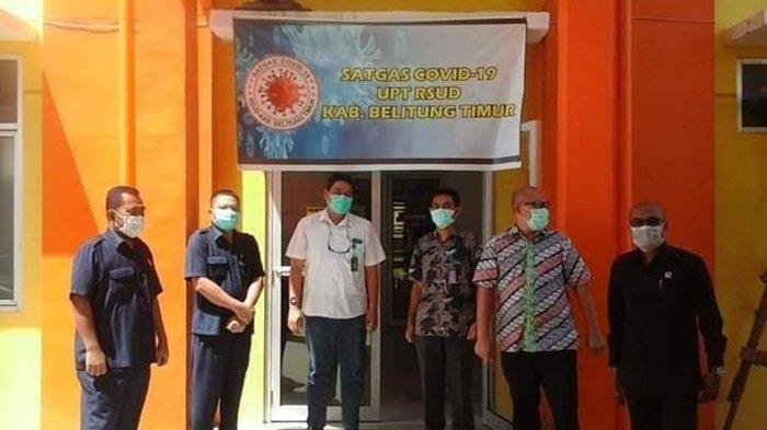 DPRD Belitung Timur Kunjungi ke RSUD Beltim, Pantau Perkembangan Penanganan Covid-19