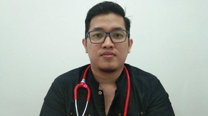 Penjelasan Dokter Spesialis Penyakit Dalam RS Utama Belitung dr. Ahmad Faisyar terkait Disinfektan
