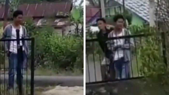 Viral Video Pencuri Motor tak Sadar Direkam dari Dalam Rumah, Berhasil Kabur tapi Wajahnya Beredar