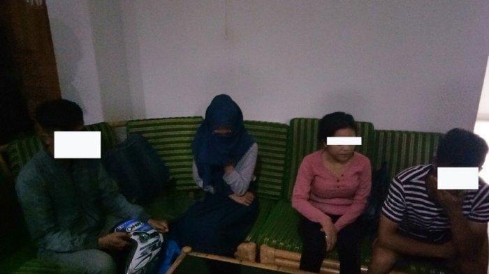 Ketahuan Ngamar, Mahasiswi Akper di Palembang ini Tertangkap Basah Ngamar dengan Anak SMA