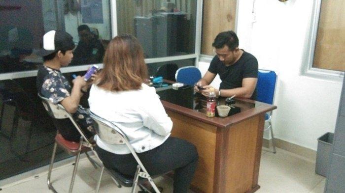 Dua Sejoli Memadu Kasih Ditempat Gelap, Duda dan Pacarnya Terjaring Razia Satpol PP Belitung