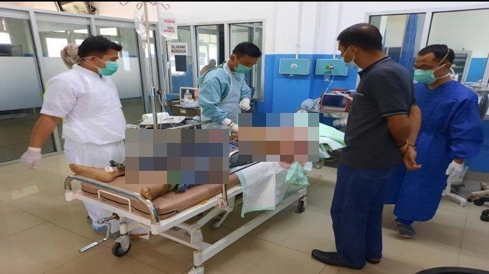 Korban perkelahian Depi dinyatakan meninggal dunia di RSUD Kayuagung setelah mengalami beberapa luka bacok di bagian tubuhnya, Sabtu (3/4/2021) sore.