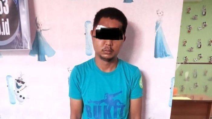 Seorang dukun cabul bernama Fahrizal diamankan Polres Langkat, Sabtu (19/4/2021).