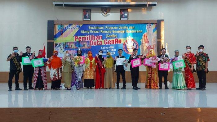 Yurico dan Lale Duta Genre Belitung Timur 2021, BKKBN Ciptakan Remaja Unggul, Inovatif dan Beretika