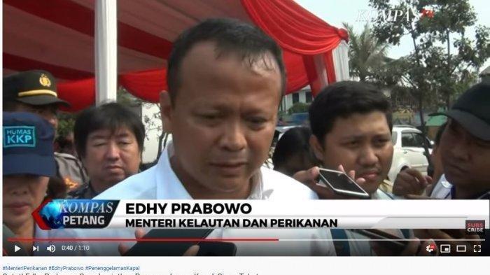Pastikan akan Lanjut Program Ibu Susi terkait Penenggelaman Kapal, Edhy Prabowo: Kenapa Harus Takut?