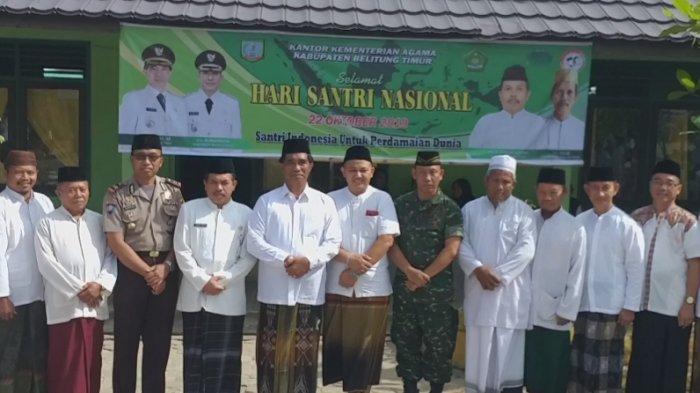 Peringati HSN 2019, Santri Turut Menjaga Kebhinnekaan dan Pancasila di Indonesia