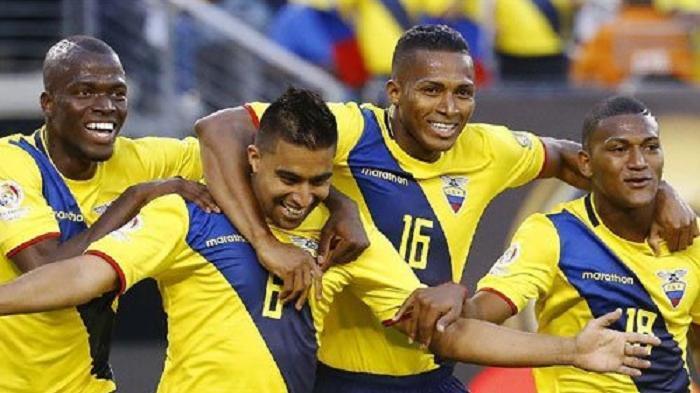 Gelontor Empat Gol Tanpa Balas ke Gawang Haiti, Ekuador Kunci Satu Tiket Lolos Grup