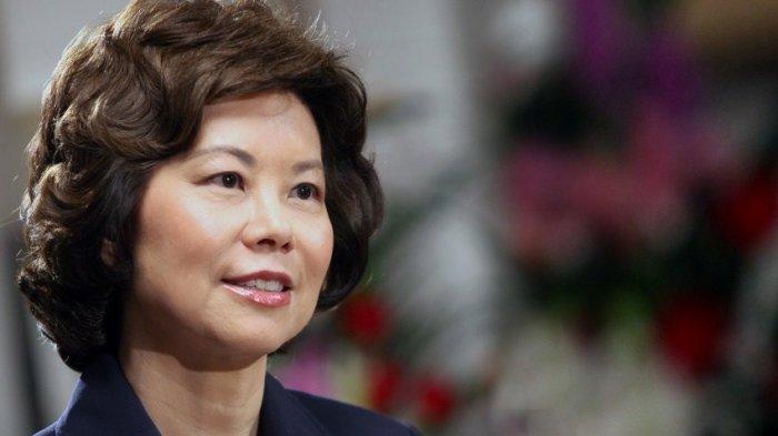 Hebatnya Wanita Keturunan Asia Ini, Ditunjuk Trump Jadi Menteri Transportasi