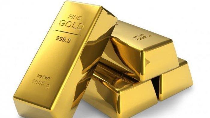 Harga Emas Batangan Antam Turun Rp 10.000 Hari Ini