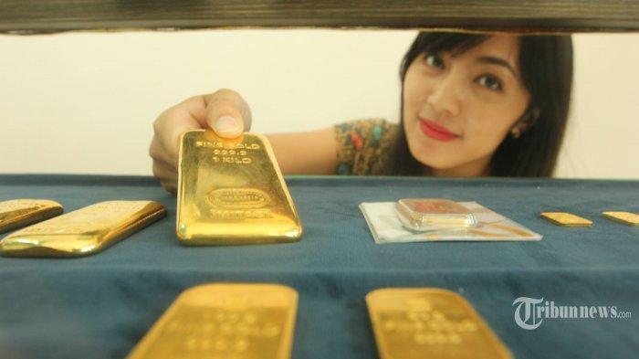 Harga Jual dan Beli Emas Antam Awal Pekan Ini Turun,  Ini Harga-harganya