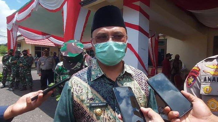 Gubernur Erzaldi Apresiasi Simulasi Sispamkota Pengamanan Pilkada 2020 di Polres Belitung Timur