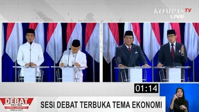 Suara Jokowi dan Prabowo Terus Naik hingga MInggu 21 April, Ini Data Real Count Pilpres 2019