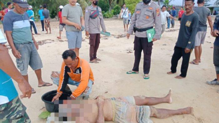 Dua Pria Temukan Mayat Mengapung di Pantai Teluk Gembira, Berawal dari Perahu Tak Ada Orangnya