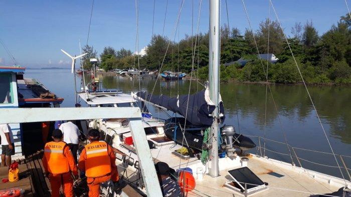 Sempat Terombang-Ambing WNA Kapten Kapal Yacth Berhasil Dievakuasi