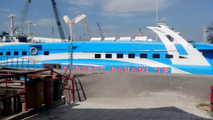 Penumpang Express Bahari dari Tanjungpandan Boleh Bawa Motor