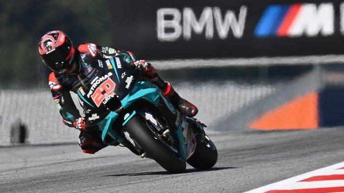 Jadwal dan Link Live Streaming MotoGP Portugal 2020, Fabio Quartararo Ingin Bersenang-senang