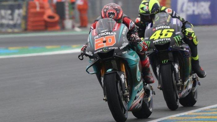 Live Streaming MotoGP Andalusia 2020, Duet Yamaha di Barisan Terdepan, Soal Ban Masih Jadi Keluhan