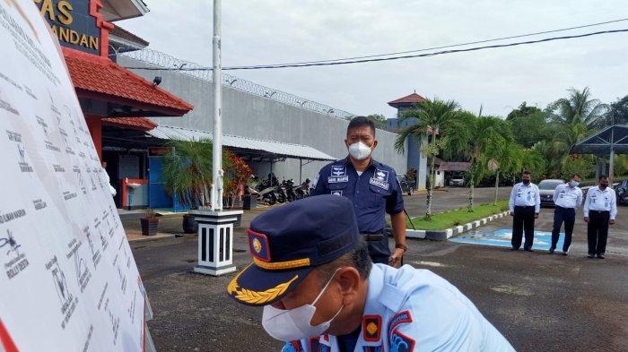 Deklarasi Anti Halinar di Lapas Tanjungpandan, Kadiv PAS Babel Test Urine Dadakan
