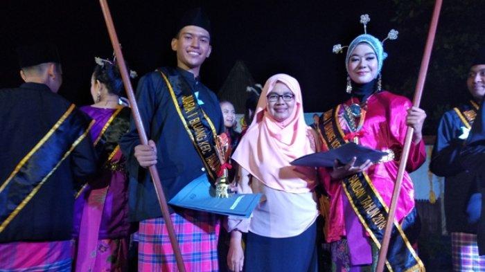 Terpilih Jadi Bujang Dayang Tingkat Kecamatan, Dua Remaja Ini Bertekad Menang di Kabupaten Belitung