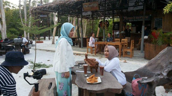 Syuting Single Kedua di Leebong Belitung, Fatin Ingin Datang Lagi Bersama Teman-temannya