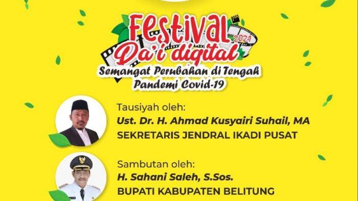 Yuk Tonton Pendakwah Milenial, Ikadi Belitung Gelar Festival Dai Digital