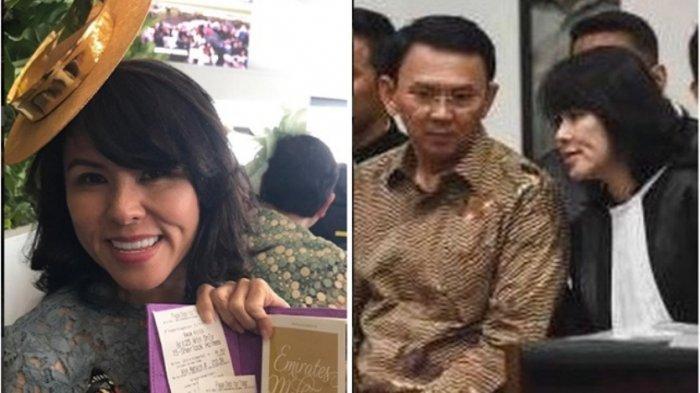 PK Ahok Ditolak, Sang Adik Datangi Kubur Ayahnya Lalu Posting Hal ini