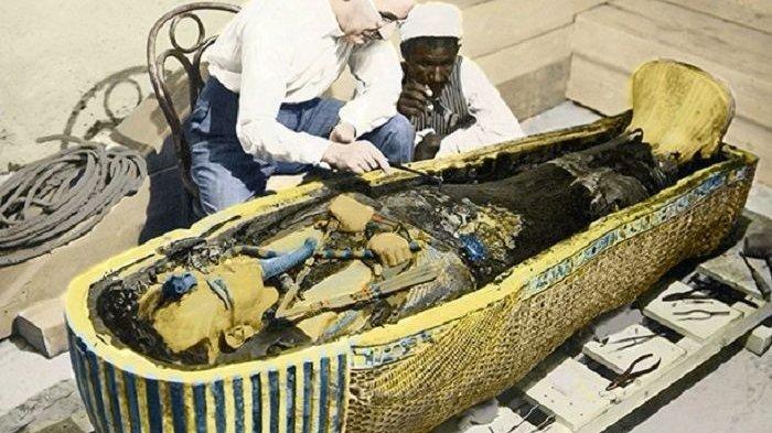 8 Fakta Firaun Tutankhamun yang Termahsyur, Dikubur Tanpa Jantung Dalam Peti Mati Termahal di Dunia