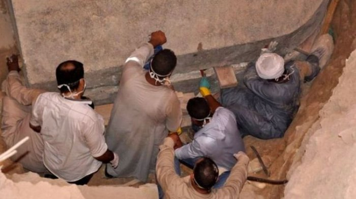 Sempat Heboh, Peti Mati Misterius Zaman Firaun Akhirnya Dibuka