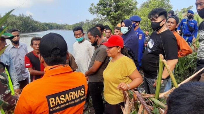 Sungai Manggar Masih Rawan, Plt Camat Manggar Imbau Warga Tetap Waspada