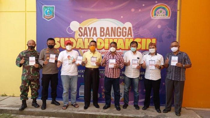 Forkopimda Belitung Timur Disuntik Vaksin Dosis Kedua, Masyarakat Umum Bulan Depan