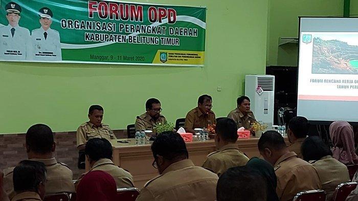 Tiap OPD Pemkab Belitung Timur Harus Punya Spesifikasi Program