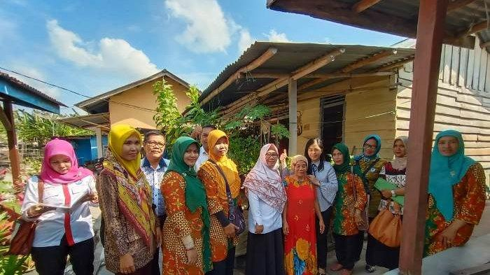 Forum Pelangi Bertuah Sehat Verifikasi Lapangan Lomba Kampung Sehat