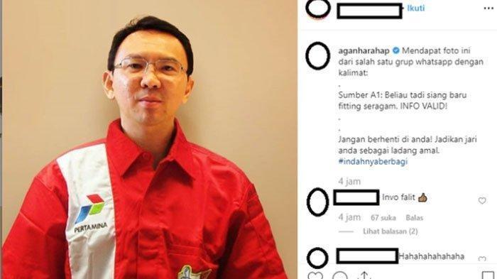 WOW Gaji Ahok Jadi  Komisaris Utama PT Pertamina Rp 170 Juta Per Bulan, Lebih Enak Jadi Gubernur DKI
