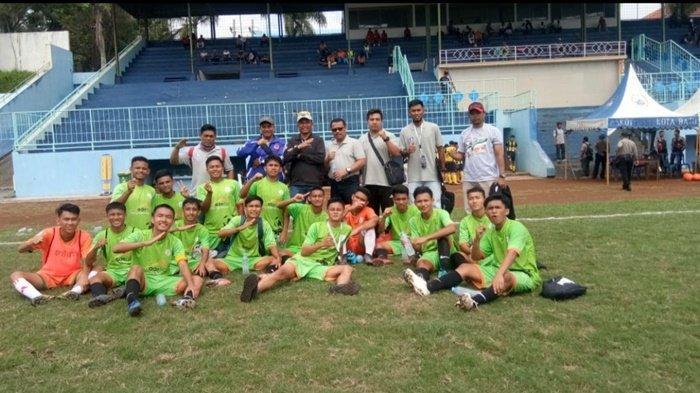 Kalahkan Maluku Utara, KOP Socer School Belitung Lolos Penyisihan Grup Wakili Babel
