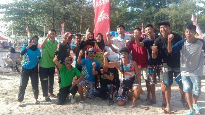 Jadwal Final Kejuaraan Nasional Voli Pasir di Pantai Wisata Tanjungpendam Jumat 23 Agustus 2019