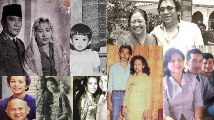 Sederet Foto Masa Muda Presiden Indonesia dan Ibu Negara, dari Soekarno, Soeharto Hingga Jokowi