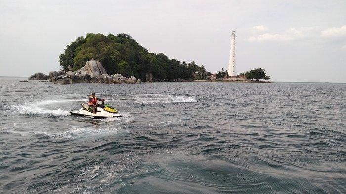 Destinasi Wisata Pulau Lengkuas, Juru Seberang, Gunung Tajam Pulau Belitung