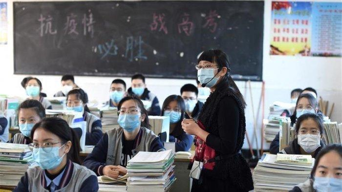 Pelajar di China Sudah Kembali Sekolah Setelah Pandemi Covid-19 Berakhir, 'Saya Senang!'