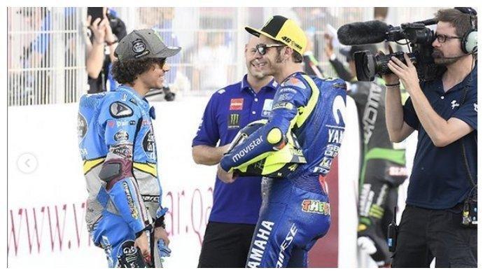 Franco Morbidelli Beber Soal Peran Valentino Rossi dalam Kemenangannya di MotoGP San Marino