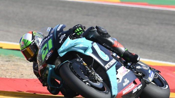 Franco Morbidelli Urutan Pertama FP1 MotoGP Qatar, Valentino Rossi Belum Panas Cuma di Posisi 9