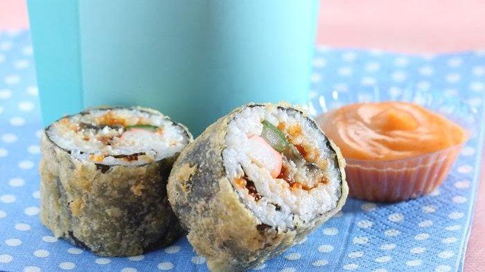 Fried Sushi Menu Sarapan Akhir Pekan yang Selalu Ditunggu Seisi Rumah