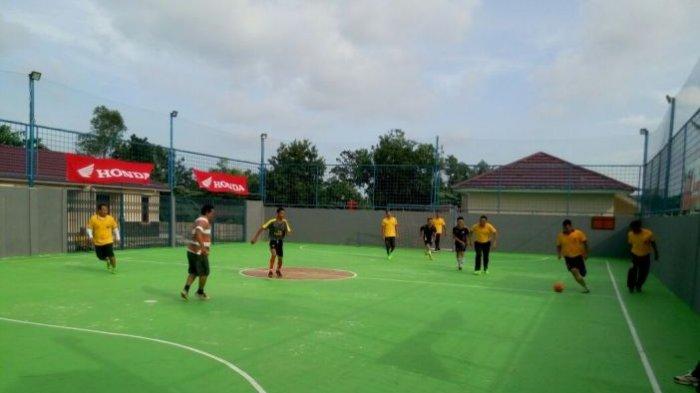 Perwira Polres Harus Telan Pil Pahit dalam Laga Sengit, Dikalahkan Tim Futsal Pokja Wartawan