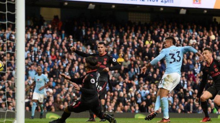 Manchester City Semakin Kokoh di Puncak Klasemen, 3-1 Menjamu Arsenal