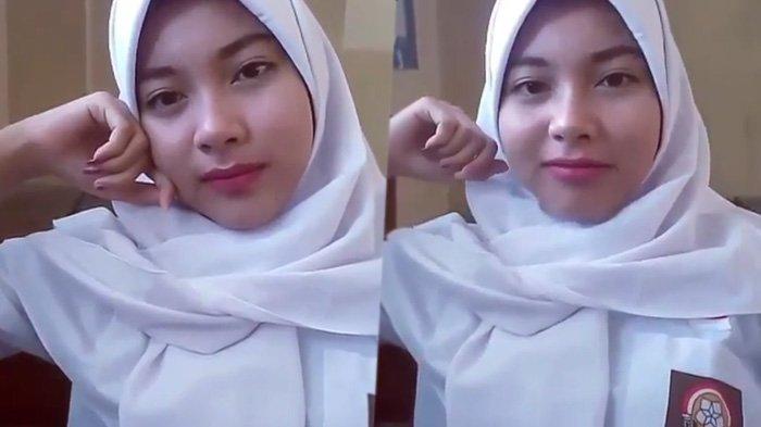 Heboh! Video Curhatan Gadis Cantik Berseragam SMA Ini Bikin Pria Merem Melek