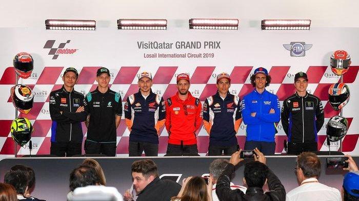 10 Pembalap MotoGP Bergaji Paling Tinggi 2019, Marc Marquez Urutan Pertama Disusul Valentino Rossi