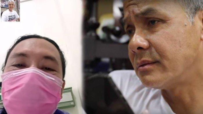 Pasien Sembuh dari Corona Video Call dengan Ganjar Pranowo Minta Tak Dikucilkan: Kami Butuh Support