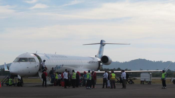 Di Belitung Ada Bandara Internasional, Garuda Buka Penerbangan Langsung Singapura Atau Kuala Lumpur