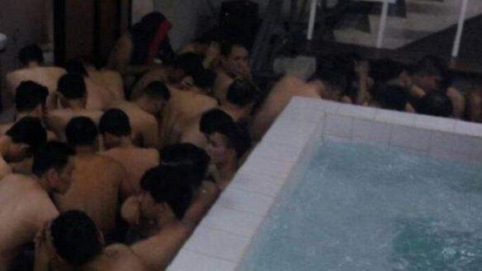 Ditemukan Banyak Kondom, 4 Penari Telanjang dan 6 Gigolo di Lokasi Pesta Seks Kaum Homo