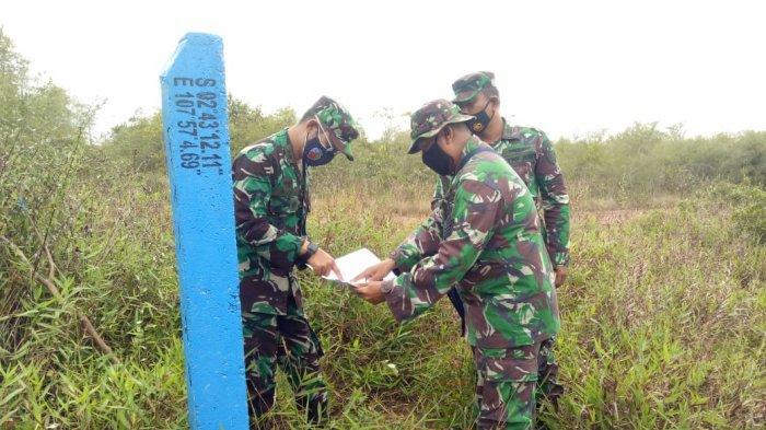Danlanud ASH Cek Aset TNI AU di Pulau Belitung