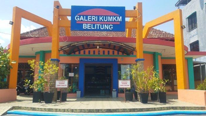 Bulan Oktober 2019 Bangunan Galeri KUMKM Belitung Direnovasi